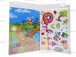 Игра с мягкими наклейками «Принцесса и рыцарь», VT4206-17, фото