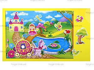 Игра с мягкими наклейками «Принцесса и рыцарь», VT4206-17, детские игрушки