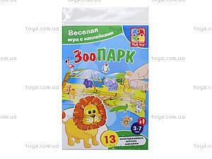 Игра с мягкими наклейками «Зоопарк», VT4206-18, игрушки