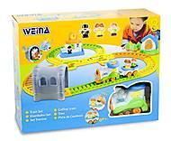 Игра Weina «Железная дорога», 2115, toys.com.ua