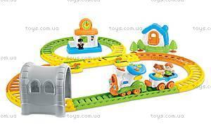 Игра Weina «Железная дорога», 2115, детские игрушки