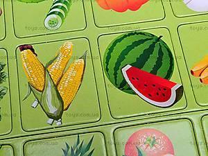 Игра-запоминалка «Овощи и фрукты», , игрушки