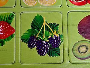 Игра-запоминалка «Овощи и фрукты», , детские игрушки