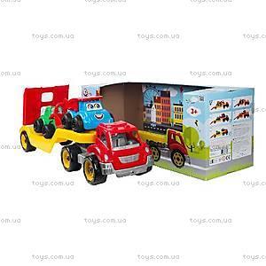 Игрушечный автовоз с набором машинок, 3909