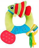 Погремушка мягкая «Цветной океан - рыбка», 68/015-2, фото