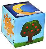 Кубик со звоночком «Природа», 2/706-2, купить