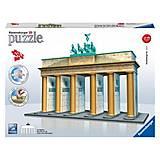 3D Пазл «Бранденбургские ворота», 12551-Rb, фото