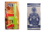 Игрушечный автомат М60 с мягкими пулями и нагрудным значком, в ассортименте, 909, отзывы