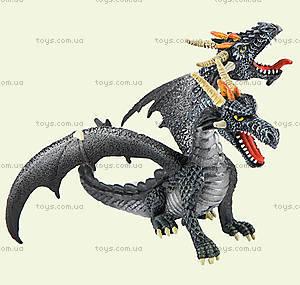 Игровая фигурка «Двухголовый дракон» серебристый, 75597