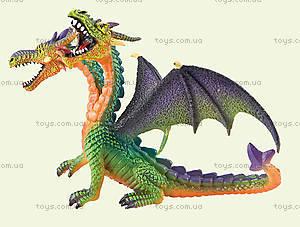 Игровая фигурка «Двухголовый дракон» зеленый, 75596