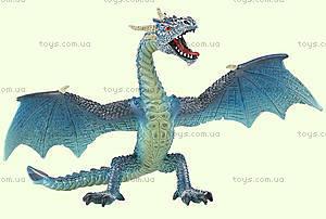 Игровая фигурка «Летящий дракон» голубой, 75592