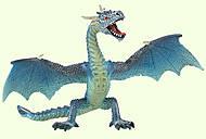 Игровая фигурка «Летящий дракон» голубой, 75592, фото