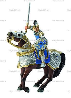 Игровая фигурка «Принц на боевом коне» синий, 80885