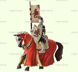 Игровая фигурка «Рыцарь на коне» красный, 80893