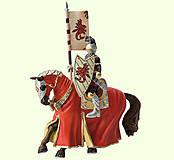 Игровая фигурка «Рыцарь на коне» красный, 80893, купить