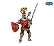Игровая фигурка «Рыцарь-знаменосец», 39361, іграшки
