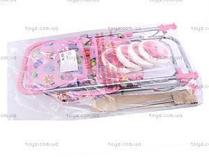 Игровая кукольная коляска, 9305