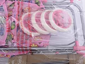 Игровая кукольная коляска, 9305, фото