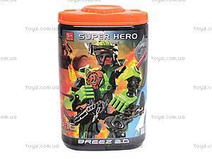 Игровой десткий конструктор Super Hero, 8022B/8027B