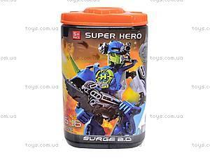 Игровой десткий конструктор Super Hero, 8022B/8027B, игрушки