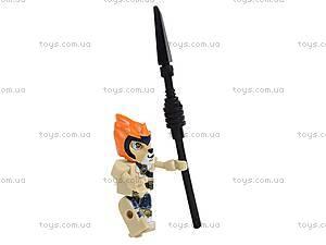 Игровой конструктор «Звери-воины», 70001, детские игрушки