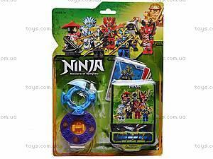 Игровой конструктор для детей «Ниндзя», 9371, фото