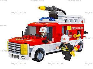 Игровой конструктор «Пожарная машина», 21502