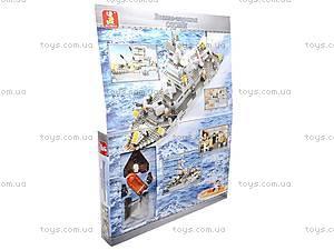 Игровой конструктор «Военно-морская серия», M38-B0126R, іграшки