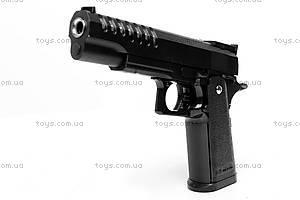 Игровой металлический пистолет, G26-1, фото