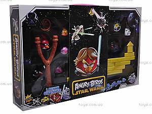 Игровой набор Angry Birds с рогаткой, 620-5, игрушки