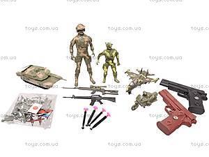 Игровой набор «Армия» с техникой, 2014A, детские игрушки
