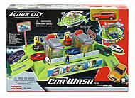 Игровой набор «Автомобильная мойка», 2 уровня, 28363, купити