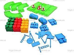 Игровой набор «Автотрек», 52 элемента, Юника, цена