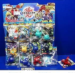 Игровой набор «Бакуган», с магнитными картами, 6588B