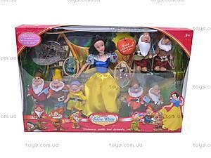Игровой набор «Белоснежка и семь гномов», 1380, детские игрушки