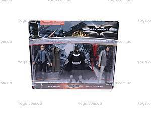 Игровой набор «Бэтмен», 3 героя, B20573N, отзывы
