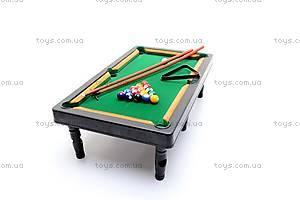 Игровой набор «Бильярдный стол», 807, отзывы