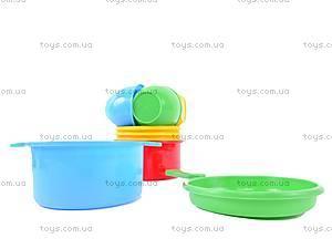 Игровой набор детской посуды, 0687, игрушки