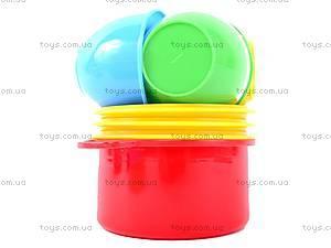 Игровой набор детской посуды, 0687, детские игрушки