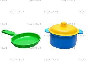 Игровой набор детской посуды, 0687, фото