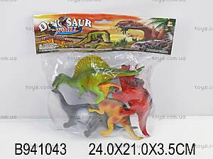 Игровой набор «Динозавры», 4 фигурки, K142