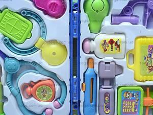 Игровой набор «Доктор», в чемодане, 3А-058AB, детские игрушки