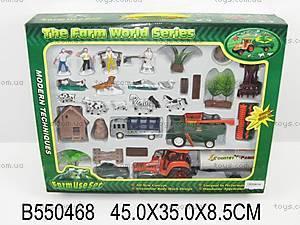 Игровой набор «Ферма», 0488-17