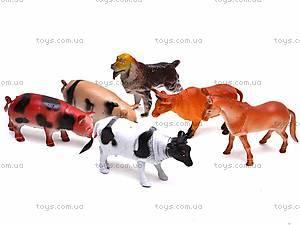 Игровой набор «Ферма», 6 животных, H636