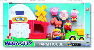 Игровой набор фермы Mega city, K32806