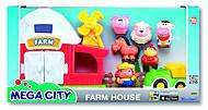 Игровой набор фермы Mega city, K32806, детские игрушки