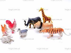 Игровой набор фигурок «Дикие животные», 213D-1