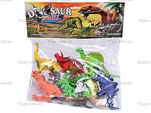 Игровой набор фигурок динозавров, K183S, купить