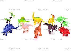 Игровой набор фигурок динозавров, K183S