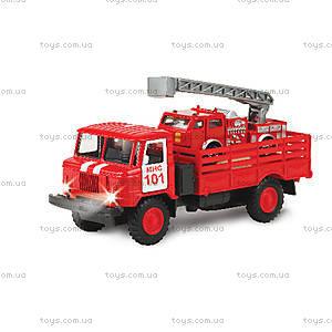 Игровой набор ГАЗ-66 с пожарной машиной, CT-1299+В3WB